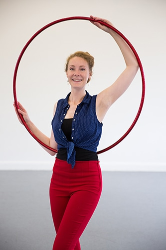 Lyndsay Hooper - Hula Hoop Instructor and Performer
