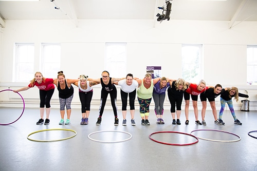 Corporate Hula Hoop Workshop