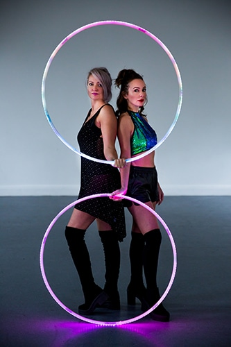 LED Hula Hoop Entertainment