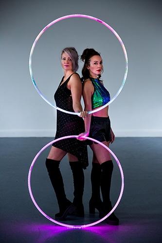 LED Hula Hoop Entertainment