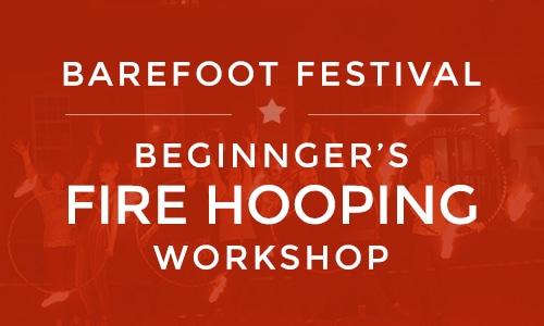 Barefoot festival fire hooping