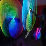 Glow-vember LED hula hoops