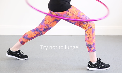 Don't lunge