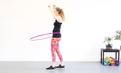 Moving your hips